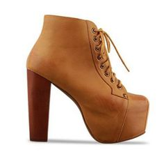 Punk Womens Shoes Chunky High Heels Lace Up Platform Ankle Boots Size