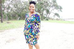 McCalls 6884 Wrap Dress
