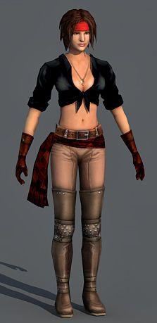 3-character-model