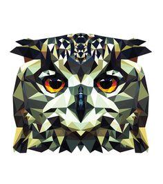 Resultado de imagen para geometric animal illustration