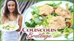 Rezept zum Abnehmen - Couscous Gericht - vegetarische Bratlinge - Annes ...