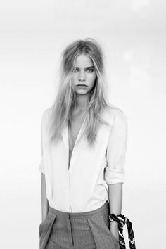 """amy-ambrosio:  Kirstin Kragh Liljegren in """"Simple everyday"""" by Christian Friis for Eurowoman Denmark, October 2014."""
