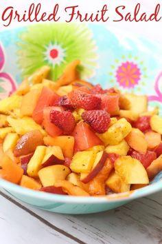 easy grilled fruit salad recipe