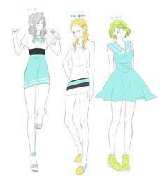 「【女体化】HQドレスLOG」/「高橋」の漫画 [pixiv]