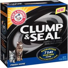 Arm & Hammer Cat Litter Clump & Seal Fresh Home, 19 lb (8.62 kg)