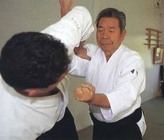 """Idiot! Falling down by yourself even though the technique hasn't been applied yet! This isn't Hombu! The Founder's Aikido is made so that you can throw without the cooperation of the opponent! Don't just fall down on your own, hold on and resist being thrown until the end! The Founder's Aikido is Budo!"" - more from Saito Sensei in ""Budoka no Kotae – Talking to Morihiro Saito Sensei"", on the Aikido Sangenkai​ blog:  Part 1…"