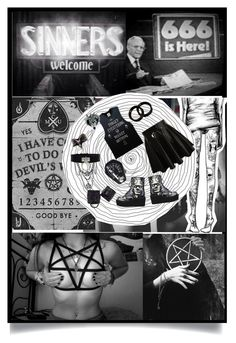 """""""Sinners"""" by redrumronnie ❤ liked on Polyvore"""