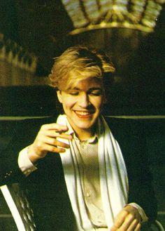 David Sylvian. I always wanted to be him. Xx