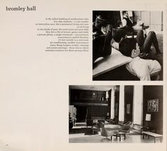 "Athena yearbook, 1967. ""bromley hall...in the tallest building in southeastern ohio live ohio students"". :: Ohio University Archives"