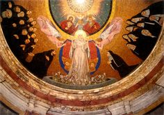 Rome: Mosaic from the church of Santa Prassede