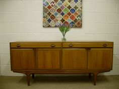 1960's RETRO TEAK SIDEBOARD BY GREAVES & THOMAS - £225 - measurements to follow !! http://www.drabtofabfurniture.co.uk/non-painted-furniture/
