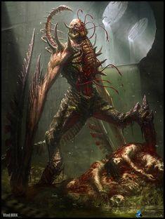 ArtStation - Sewer demon - full set, Vlad Marica