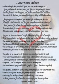 This poem I wrote just to thank GOD for showing his love, strength and heavenly power and light to pull me out of the deepest darkest Hell where I was lost for so long. I didn't live life happy I just exsisted in the drug induced world where I had no Lucky To Have You, Love You, My Love, Never Let Me Down, Let It Be, Christian Poems, Words Quotes, Sayings, Crucifixion Of Jesus