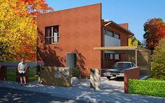 Návrh rodinného domu Flek od APEX ARCH s.r.o. Mansions, House Styles, Home Decor, Decoration Home, Manor Houses, Room Decor, Villas, Mansion, Home Interior Design