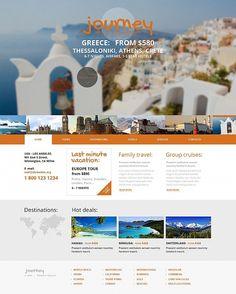 Internet-#Reisebüro mit abenteuerlichem Design bringt schneller Erfolg. Unser neues Moto CMS #HTML Template steht hier zur Verfügung:http://buff.ly/1qNrW9G
