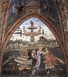 Vatican Museum - Borgia Apartment. Susanna and the Elders ( Pinturicchio )