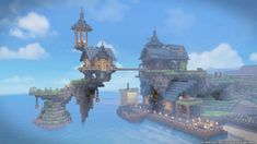 Minecraft Cliff House, Minecraft Castle, Minecraft Plans, Minecraft Blueprints, Minecraft Designs, Creative Architecture, Minecraft Architecture, Minecraft Buildings, Minecraft Construction