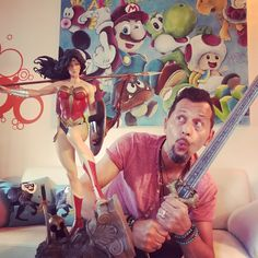 I will fight for those who cannot fight for themselves. 😳😱⚔️  #godkiller #wonderwoman #dc #dccomics #artistlife #artist #replica #limitededition #artgallery #nerd #geek #nerdstuff #sword #cool #amazing #wow #galgadot #collection #collector #artstudio