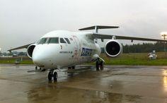 Getting close to the Antonov An-158 — Allplane