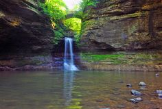 Canyons, streams, prairie and forest combine to delight visitors at Matthiessen State Park. Bike Trails, Hiking Trails, Biking, Walk The Earth, Great View, Outdoor Fun, Day Trip, The Great Outdoors, State Parks