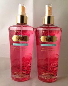 2 Victoria's Secret Fragrance Mist Classics SECRET CRUSH 8.4 fl.oz Peony & Peach #VictoriasSecret #fantasies #secretcrush