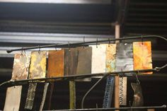 Some of the available metal finishes for custom work Metal Finishes, It Is Finished