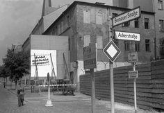 Bernauerstrasse Ecke Ackerstrasse 1961
