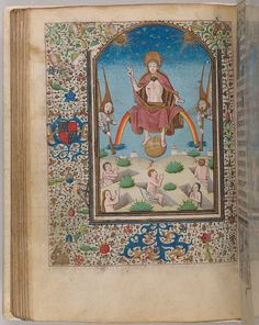 Christ: Last Judgement | Book of Hours | France, Langres | ca. 1465 | The Morgan Library & Museum