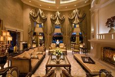 2 Million Dollar Mansions | All the interior design throughout the mansion was done by Eloise ...