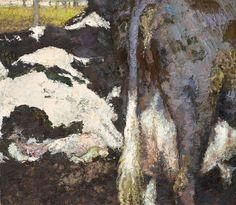 Yisrael Dror Hemed, Cattle, 2012, oil on canvas, 70x80 cm