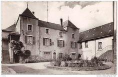 Frankreich - CPSM - MAZILLE (71) - Champ Rouge Maison de Repos - Cour intérieure
