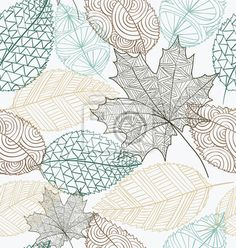 Hand drawn transparent autumn tree leaves seamless pattern background Poster vector file with transparency organized in layers for easy editing Poster Poster. Fall Background, Textured Background, Background Templates, Background Patterns, Vector Hand, Vector Free, Fall Images, Leaf Template, Tree Leaves