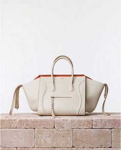 02b65af35d9 Celine Chalk White Phantom Luggage bag with Orange Interior - Summer 2014  My Bags, Purses