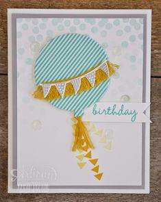 SU Birthday Bash Washi Sheets