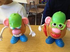 Autism Tank: Mr. Potato Head Language Activities