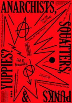 Anarchists, Squatters, Punks & ... Yuppies? - Studio Lennarts & de Bruijn