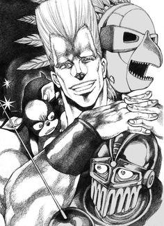 Bizarre Art, Jojo Bizarre, Punk Poster, Jojo Anime, Art Inspiration Drawing, Jojo Memes, Jojo Bizzare Adventure, Ship Art, Manga Art