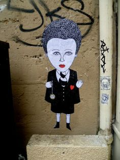 Street art by Fred Le Chevalier