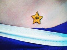 Invincibility star from Mario
