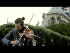 ▶ Paris Street Music : Amazing Violin player David Vinitzki (HD)