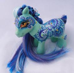 OOAK Custom My Little Pony Dharani by Ambar | eBay
