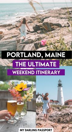 How to Plan a Long Weekend to Portland, Maine. Where to stay, where to eat and what to do in Portland Maine. #portland #maine #newengland | Maine Itinerary | What to do in Portland Maine | Portland weekend | Portland 48 hours | Usa Travel Guide, Travel Usa, Travel Guides, Travel Tips, Travel Destinations, Travel Maine, Oregon Travel, Weekend In Portland, Portland Maine