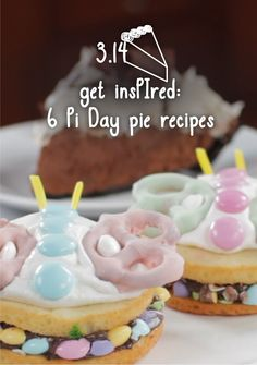 Pi Day pie recipes to make to celebrate! | Featured: Chocolate Pie Dessert Sliders