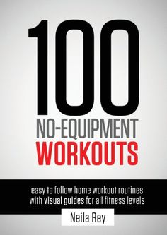 100 No-Equipment Workouts Vol. 1: Fitness Routines you can do anywhere, Any Time...  Hundreds of thousands of people all over the world use Darebee bodyweight, no-equipment workouts to exercise at home. The 100 Workouts Book is for everyone who wants to stay active, get fit, build muscle tone and/or shed extra weight in the home environment without acquiring any extra.....http://bit.ly/2md5C9k