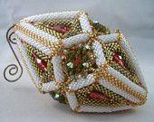 Muster / Tutorial Perlen Weihnachten / Ostern Ornament