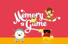 Memory Game illustration on Behance