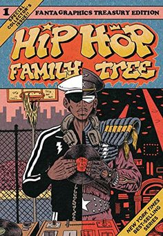 Hip hop family tree. Book 1, 1970s-1981 / Ed Piskor. An amazing comics history of the rise of hip hop, with a near-encyclopedic look at how all the major players (and plenty of minor ones) got their start. As an added bonus, the design has an old-school '70s comics feel to it. With a discography of essential tracks to listen to while you're reading it.