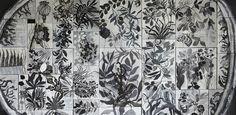 Massimiliano Fabbri / Memoria vegetale. Crescita mondo giardino foresta notte 2015-16 olio su tela e legno, cm 260x330 (dettaglio) http://ibc.regione.emilia-romagna.it/notizie/2016/alla-biennale-disegno-di-rimini-vie-di-dialogo-5-con-le-opere-di-luca-caccioni-e-massimiliano-fabbri