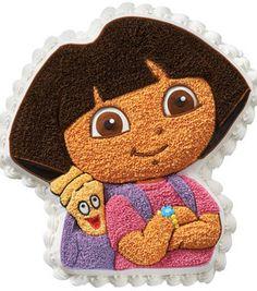 "Eden wants a Dora Birthday cake:    Wilton 3D Cake Pan-Dora The Explorer 11""X11""X2"": bakeware: baking: Shop | Joann.com"