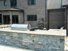 Santa Cecilia Granite Installed-Outdoor Kitchen Kannapolis 3 4 8-Visit our web site to see much more and don't forget to get your FREE ESTIMATE http://www.fireplacecarolina.com